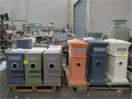 LETTER BOXES 30% OFF MAIL BOX BIRD BATHS  POTS WATER FEATURES JAR Hoppers Crossing Wyndham Area Preview