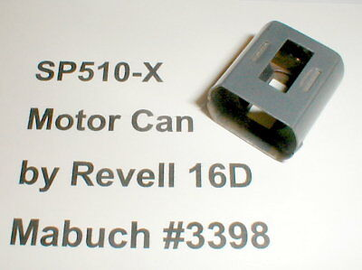SP510-X Motor CAN & Magnets Slot Cars Revell 16D Mabuchi 3398 Original Used