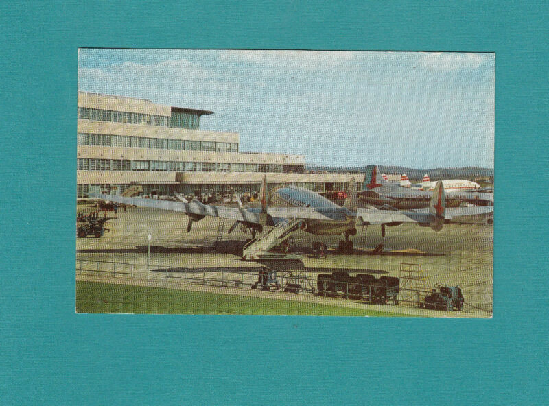 GREATER PITTSBURGH MUNICIPAL AIRPORT Chrome Printed unposted Eastern Airlines