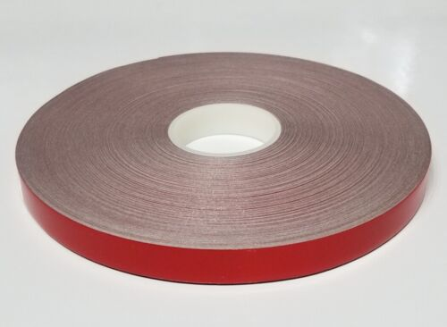 "1/4"" x 150 ft Red Reflective Pinstriping Safety Tape"