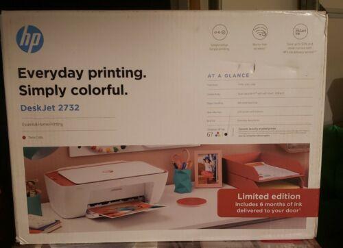 new desk jet 2732 terra cotta printer