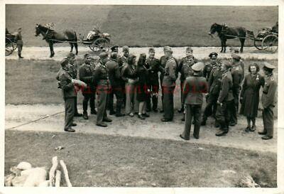 Foto, Wk2, Uffz Korps der 8.I.R.359 beim Tanz in den Sommer 1942 (N)20822