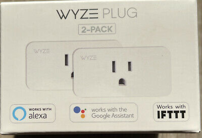 Wyze Plug Smart Home WiFi   2-pack  FACTORY SEALED FREE SHIPPING