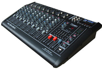 10 CHANNEL 4000 WATTS PROFESSIONAL POWER MIXER AMPLIFIER USB/SD PA SYSTEM 16 DSP ()