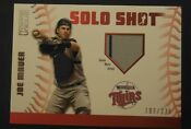 Joe Mauer Jersey Card