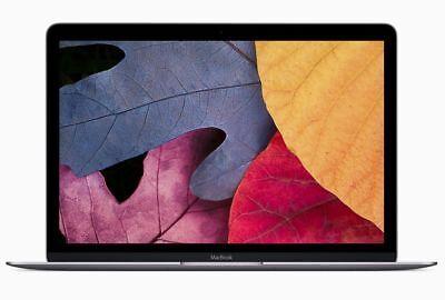"2017 Apple MacBook 12"" SPACE GRAY 1.2Ghz Core m3 Dual 8GB 256GB MNYF2LL/A Mac OS"
