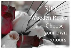 Wholesale Wooden Roses - Choose amount required