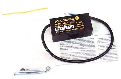 New Joucomatic 88136712 Vacuum Switch Ac 100v 10ma Dc24v 30ma
