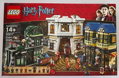 NEW SEALED LEGO 10217 HARRY POTTER DIAGON ALLEY OLLIVANDER GRINGOTTS BANK