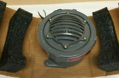 0782979227007federal Signal 41x-024-1 Explosion-proof Vibrating Horn