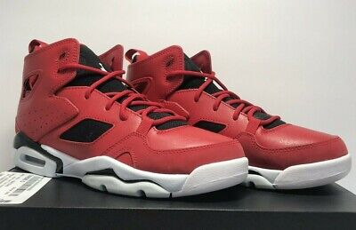 Nike Grade School Sz 5Y Air Jordan Flight Club 91 Gym Red Black Shoes 555472 600