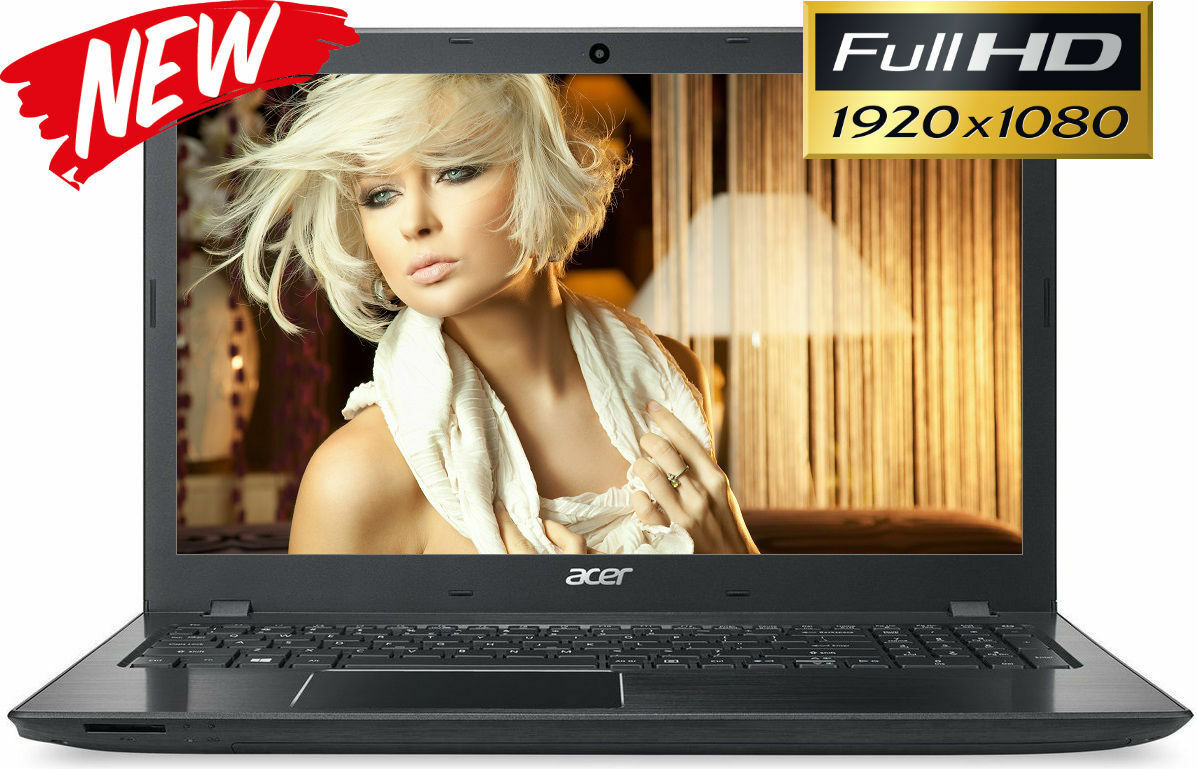 "Laptop Windows - NEW! ACER 15.6"" Full-HD Intel Core i3-7100U 2.40GHz 8GB 1TB HD Windows 10 Laptop"
