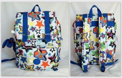 KIPLING Backpack ODELL Printed Bag w/ Padded Lapton Sleeve, Mystic Sunset covid 19 (Kipling Print Backpack coronavirus)