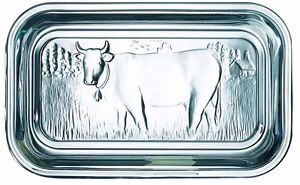 LuminarcClear  Glass Cow Butter Dish with Lid