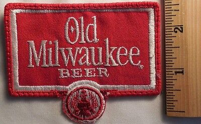 OLD MILWAUKEE BEER PATCH (BEER, ALCOHOL)