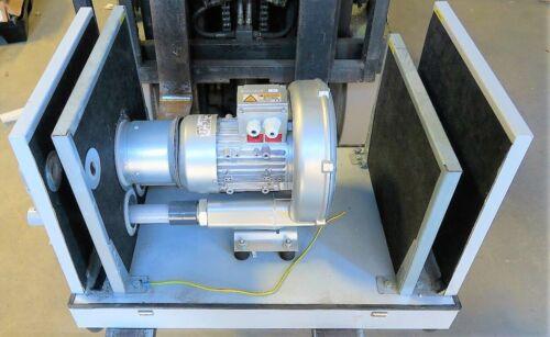 Regenerative Ring Blower & Vacuum Pump Hood High Temp NEW WORKING PULL 1.3 HP