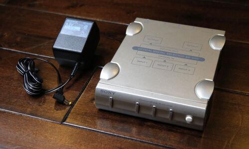 Sony SB-D30 Optical Digital Audio Selector • Toslink 3.5mm