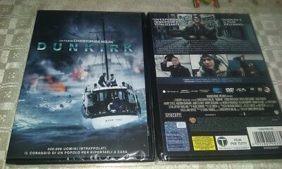 cofanetto+DVD NUOVO sig DUNKIRK DI CHRISTOPHER NOLAN  vers italiana