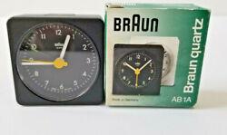 Braun AB1A Small Quartz Alarm Clock in Original Box