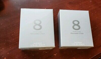 SET OF 2 - ABERCROMBIE & FITCH | 8 PERFUME1.7 oz / 50ml / Brand New, used for sale  Auburn