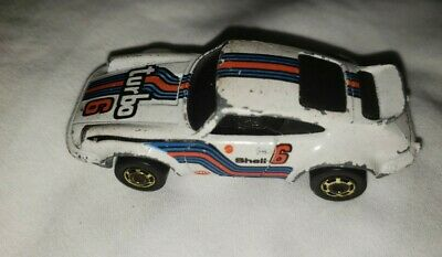 Hot Wheels Porsche P-911 Turbo #6  Loose 1974 Hong Kong