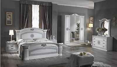 ITALIAN BEDROOM SET FURNITURE NEW SPECIAL OFFER !!! CALL 0208 951 5382