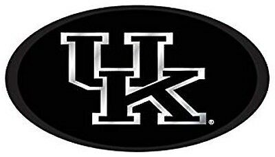 "KENTUCKY WILDCATS UK Domed Trailer Hitch Cover For a 2"" Receiver Black"