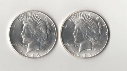 1922 Peace Dollar Magic Trick Coin Two Face  Two heads Novelty Fantasy Coin AU