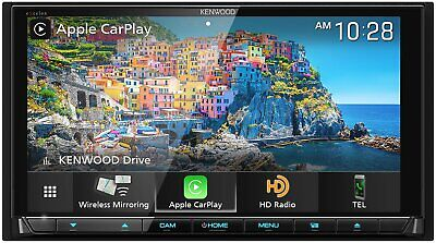 Kenwood Excelon DDX9906XR 6.8 Apple CarPlay & Android Auto Receiver with DVD