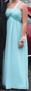 Long blue prom dress **PRICE REDUCED**