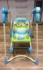 Fisher price 3 in 1 swing and rocker