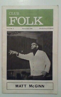 Club Folk Magazine Volume 2 Number 2