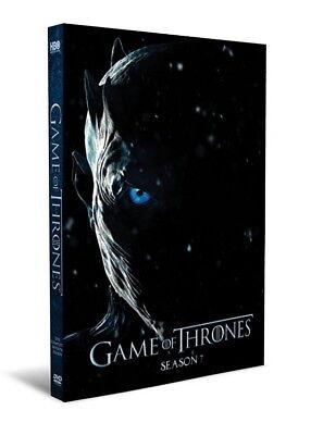 Game Of Thrones Season 7  Dvd  2017  4 Disc  Seven