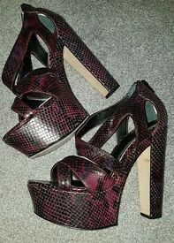 Brand new topshop shoes size 6