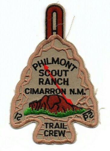Boy Scout Philmont OA Trail Crew Arrowhead Patch