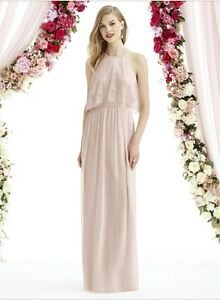 Brand New Blush Bridesmaid Dress!