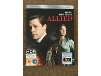 Allied 4k blu ray
