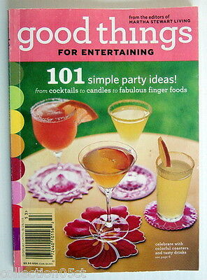 2005's BOOK, GOOD THINGS FOR ENTERTAINING, 101 SIMPLE PARTY - Ideas For 80's Party