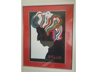 Bob Dylan quality framed print