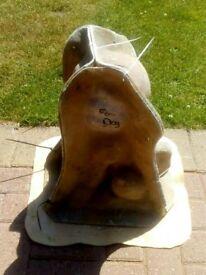 Fibreglass and latex mould FOO DOG