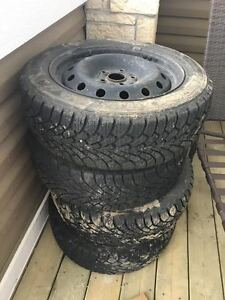 205 55 16 winter tires with rims