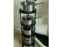 Cast iron pot stands