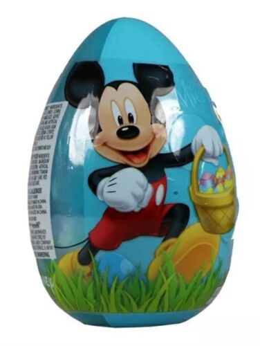NEW Disney MICKEY MOUSE JUMBO Large Egg Toy Surprise Candy B
