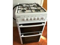 BEKO ALL GAS COOKER OVEN GRILL, 50CM STANDARD SIZE, DELIVERY