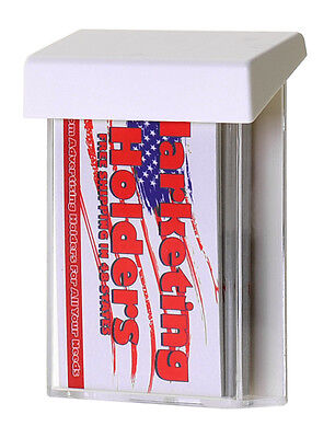 48 Vertical Outdoor Business Card Holder Perfect For Realtor Signs