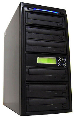 Duplicator Depot 5 Burner 24x Cd Dvd Disc Duplicator Copi...