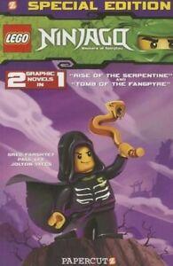 GREG-FARSHTEY-Lego-Ninjago-Special-Edition-2-2-Graphic-Novels-in-1