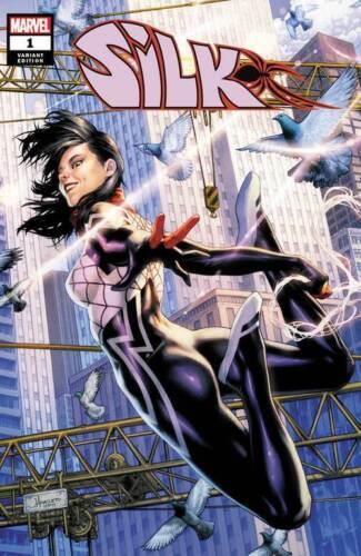 SILK #1 JAY ANACLETO VARIANT NM SPIDER-MAN GWEN MILES MORALES VENOM BLACK CAT MJ
