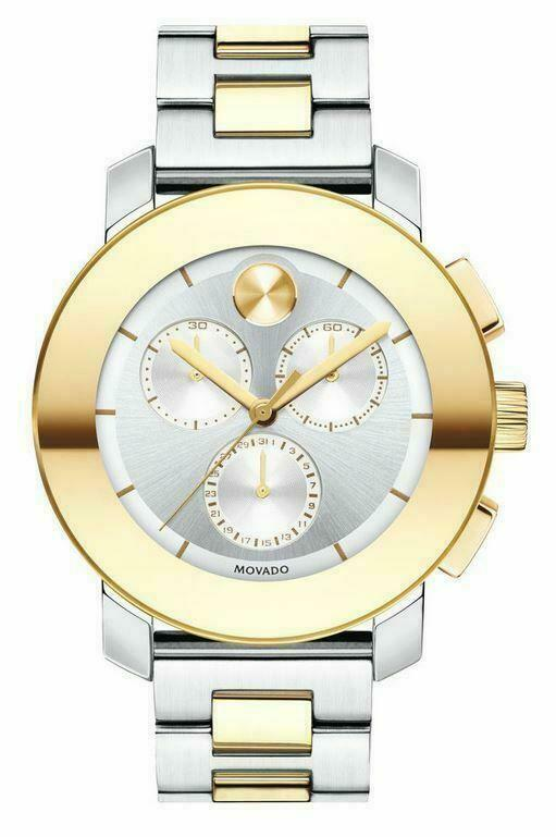 Movado Bold two-tone Stainless Steel Unisex Watch (3600357)