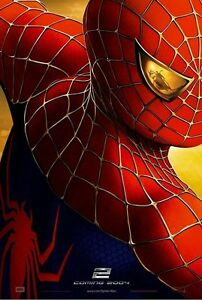 Spider-man 2 Theatrical Poster (2004)